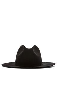 Шляпа федора с широкими полями midnight - Etudes Studio