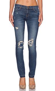 Состаренные облегающие джинсы ellis - J Brand