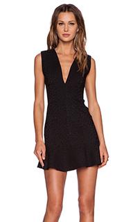 Коктейльное платье с оборкой - MLM Label