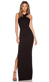 Вечернее платье из понте с переплетом спереди - NICHOLAS