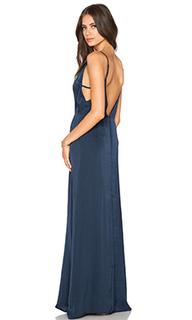 Макси платье с v-образным вырезом - Capulet