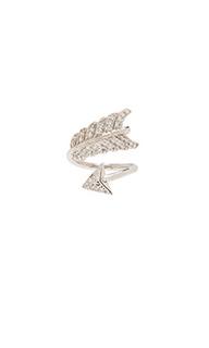 Миди кольцо с амулетом выпущенная стрела - Natalie B Jewelry