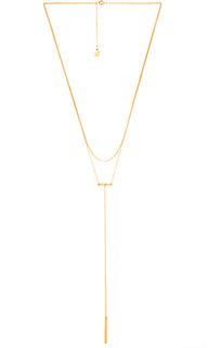 Ожерелье в форме лассо asher - gorjana
