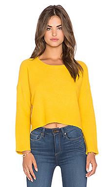 Укороченный свитер hi-lo - Lucy Paris