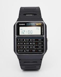 Часы-калькулятор Casio CA-53W-1ER - Черный