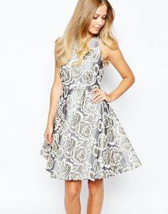 Платье с вышитыми цветами Coast Amelia - Мульти