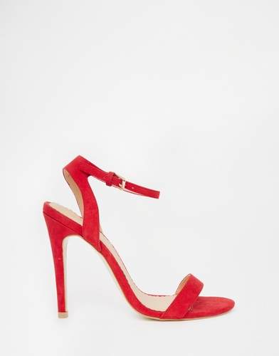 Легкие красные сандалии на каблуке Head Over Heels By Dune Madame