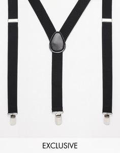 Подтяжки Reclaimed Vintage - Черный