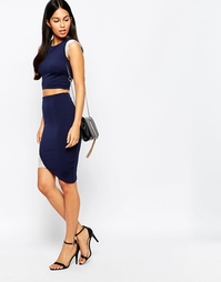 Rosie Fortescue Tokyo Skirt with Lace Insert