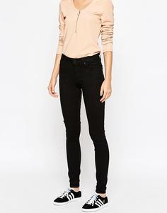 Эластичные облегающие джинсы Weekday - Черный