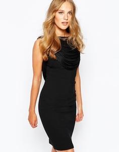 Платье с бахромой сзади BA&SH Clapton - Черный Ba&;Sh