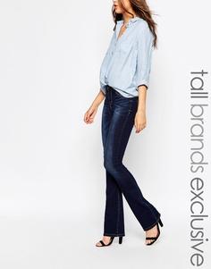 Расклешенные джинсы Vero Moda Tall - Indigo - индиго