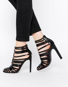 Туфли на каблуке ASOS PERSUASION - Черный