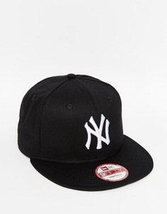 Бейсболка c буквами NY New Era 9Fifty - Черный