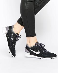 Черные кроссовки Nike Free 5.0 TR Fit 5 - Черный