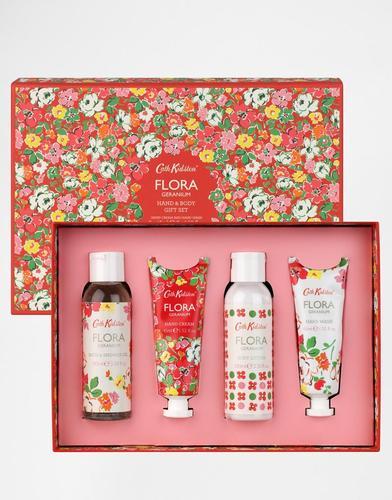 Набор для ухода за руками и телом Cath Kidston Flora - Pink geranium