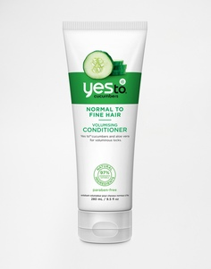 Кондиционер для объема волос Yes To Cucumbers - 280 мл - Огурцы