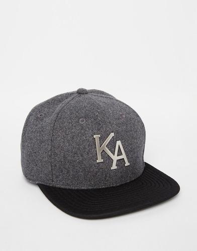 Бейсболка King Apparel Letterman - Серый