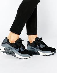 Черно-серые кроссовки Nike Air Max 90