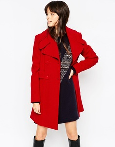 Пальто в стиле 60‑х ASOS - Красный