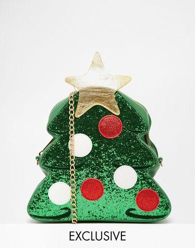 Эксклюзивная сумка через плечо в виде новогодней ели Skinnydip