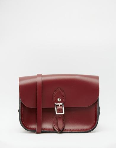 Темно-красная дорожная сумочка The Cambridge Satchel Company