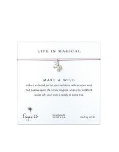 Ожерелье с серебряной подвеской-единорогом Dogeared Life Is Magical Ma