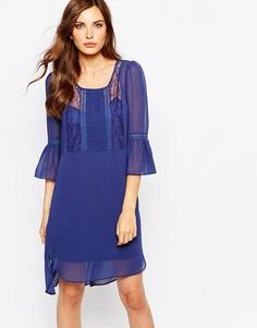Платье-кафтан BCBG Generation - Темно-синий