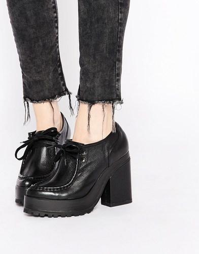 Eeight Erin Platform Heeled Shoes - Черный
