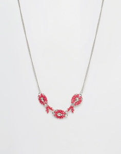 Johnny Loves Rosie Jasmine Statement Necklace - Золотой
