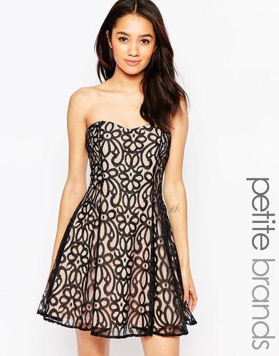 Кружевное платье для выпускного Lipstick Boutique