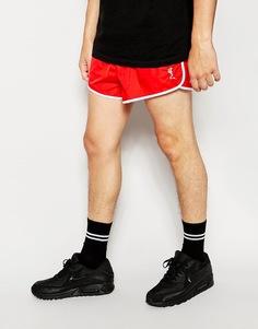 Короткие спортивные шорты Religion - Красный