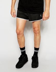 Короткие спортивные шорты Religion - Черный