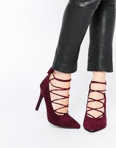 Туфли-лодочки на шнуровке Senso Roxi - Wine