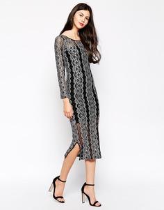 Платье с кружевной накладкой Ukulele Star