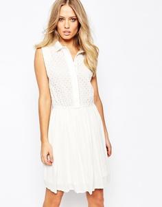Платье Y.A.S - Белый