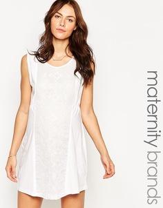 Платье-туника для беременных Ripe Maternity Sorrento - Marshmellow