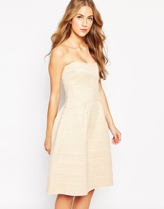 Бандажное платье‑бандо Glamorous - Gold bandage