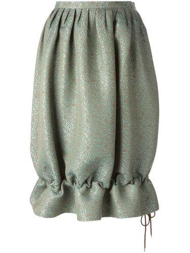 брюки с молниями Jean Paul Gaultier Vintage