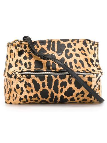 Леопардовая сумка givenchy