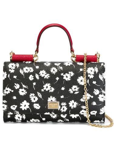 Женская черная сумка wifi DOLCE GABBANA купить за