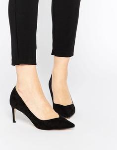Туфли на каблуке с острым носом ASOS SOULMATE - Черный