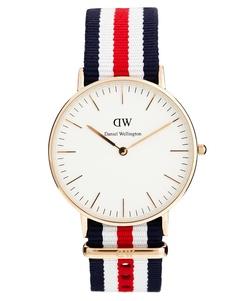 Классические часы Daniel Wellington Canterbury - Разноцветный красный