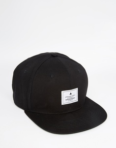 ASOS Snapback Cap In Black - Черный