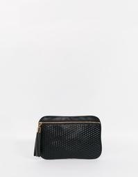 Сумка-клатч с кисточкой ASOS Weave - Черный