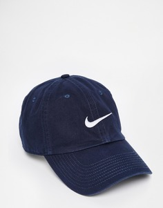 Кепка с логотипом Nike NSW 546126-454 - Синий