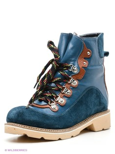 Синие Ботинки Grand Gudini