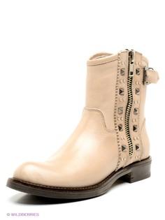 Бежевые Ботинки METROPOLPOLIS