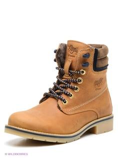 Коричневые Ботинки El Tempo