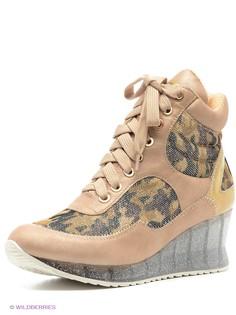 Бежевые Ботинки Daze